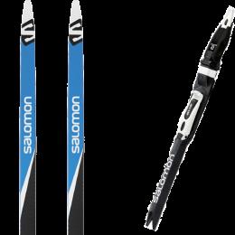 SALOMON RS 7 22 + SALOMON SNS PILOT RS BLACK/WHITE 21