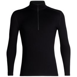 ICEBREAKER 260 TECH LS HALF ZIP BLACK 21