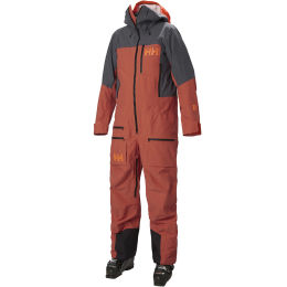 HELLY HANSEN ULLR CHUGACH POWDER SUIT PATROL ORANGE 21