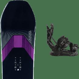 Snowboard K2 K2 MANIFEST 21 + FLOW NX2 HYBRID BLACK 21 - Ekosport
