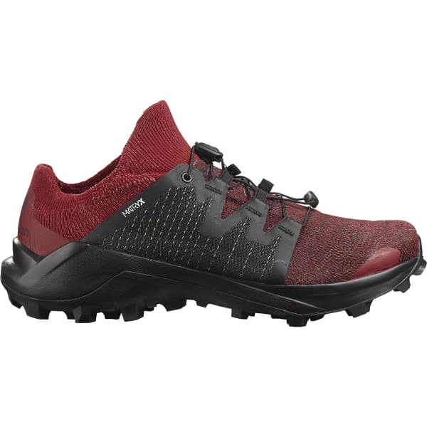 SALOMON Chaussure trail Cross W /pro Corrida/red Dahlia/black Femme Rouge/Noir taille 3.5