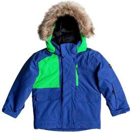 Vêtement hiver QUIKSILVER QUIKSILVER FLAKES KIDS JKT JR SODALITE BLUE 17 - Ekosport