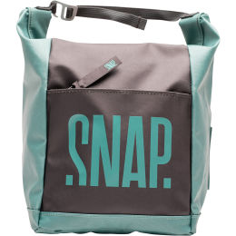 SNAP BIG CHALK BAG GREEN&LIGHT BLACK 20