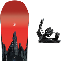 CAPITA DEFENDERS OF AWESOME 21 + FLOW FENIX FUSION  BLACK 21
