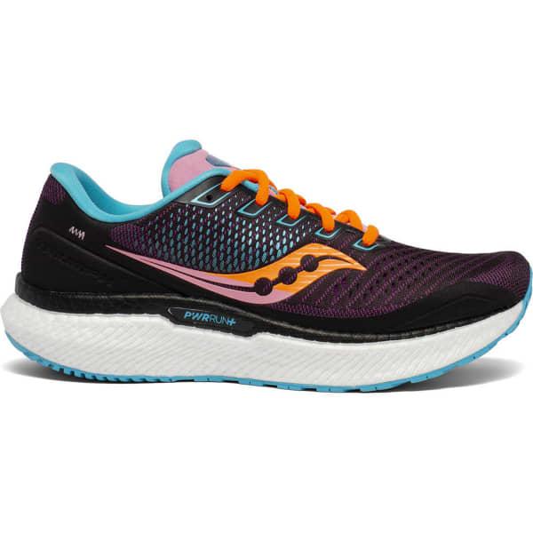SAUCONY Chaussure running Triumph 18 W Future/black Femme Violet/Orange taille 8.5