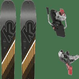 Ski randonnée K2 K2 WAYBACK 96 SMU 22 + ATK CREST 10 - 97MM 22 - Ekosport