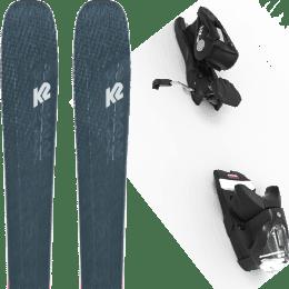Boutique K2 K2 MINDBENDER 98 TI ALLIANCE 20 + LOOK NX 12 GW B100 BLACK 22 - Ekosport