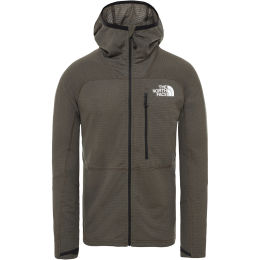 THE NORTH FACE M L2 PWRGRD LT HDIE NEW TAUPE GREEN 20
