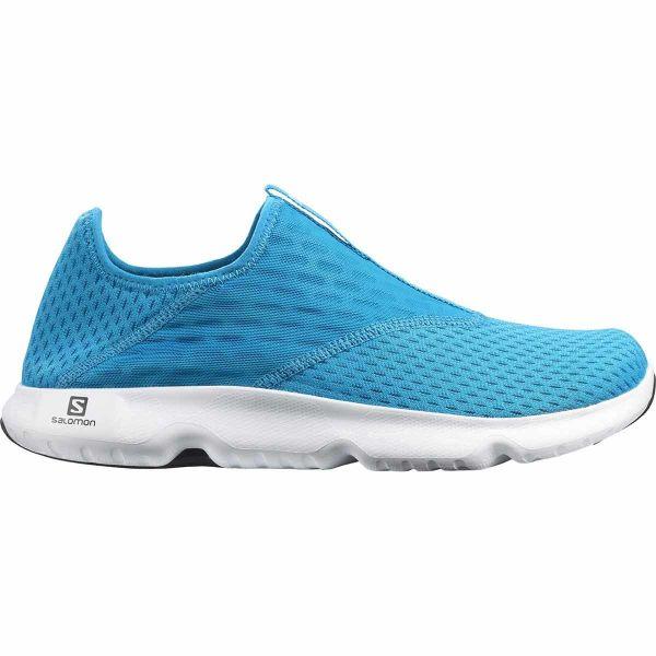 SALOMON Sandale de récupération Reelax Moc 5.0 Hawaiian Ocean/black/white Homme Bleu taille 6.5