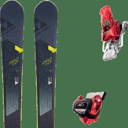 Pack ski alpin FISCHER FISCHER PRO MT 95 TI 19 + TYROLIA ATTACK² 13 GW W/O BRAKE [A] RED 20 - Ekosport
