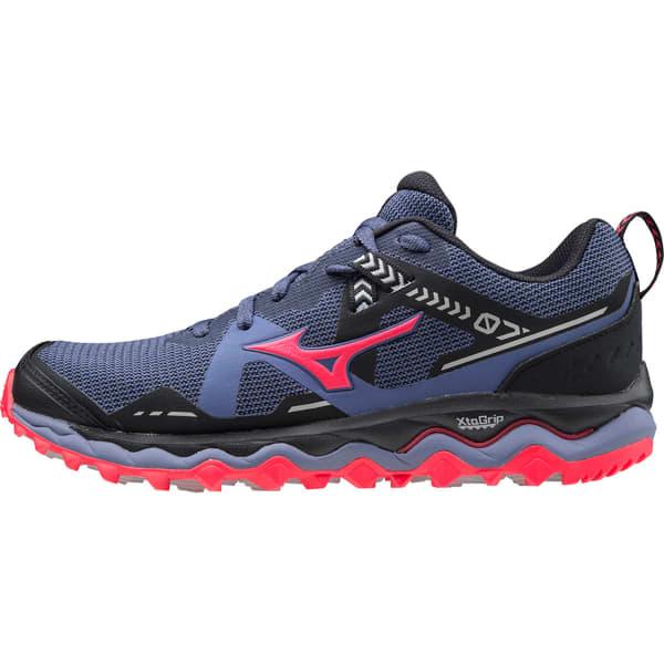 MIZUNO Chaussure trail Wave Mujin 7 Marlin/lunarrock/dpink Femme Violet taille 4