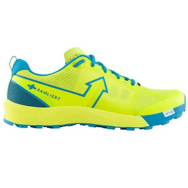 RAIDLIGHT Chaussure trail Responsiv Xp Shoes Lime Green / Blue Homme Jaune/Bleu taille 7.5