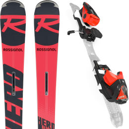 ROSSIGNOL HERO ELITE PLUS TI + NX 12 KONECT GW B80 SWISS LTD 20