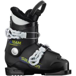 Calçado de esqui SALOMON SALOMON TEAM T2 BLACK/WHITE 21 - Ekosport