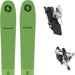 BLIZZARD ZERO G 095 GREEN 22 + ATK RAIDER 12 97 MM WHITE 21
