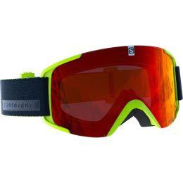 Protection du skieur SALOMON SALOMON XVIEW ACID LIME/UNIV. MID RED 19 - Ekosport