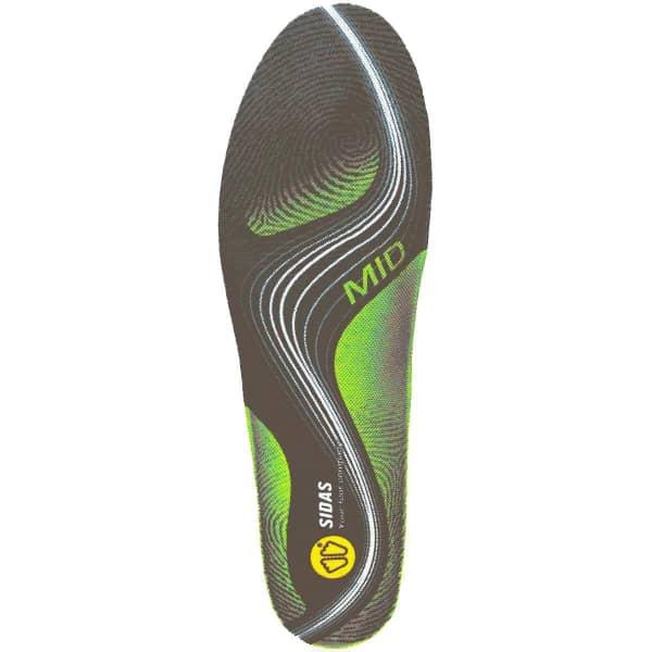 SIDAS Semelle chaussure 3feet Activ Mid Gris/Vert M