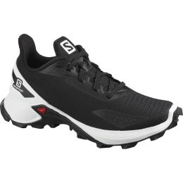 SALOMON ALPHACROSS BLAST J BLACK/WHITE/BK 21