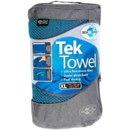 Nouveautés accessoires SEA TO SUMMIT SEA TO SUMMIT TEK TOWEL XL PACIFIC BLUE 21 - Ekosport