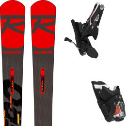 ROSSIGNOL HERO MASTER + SPX 12 ROCKERACE BLACK ICON 21