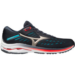 MIZUNO WAVE RIDER 24 INDIA INK/PLATINUM GOLD/SCUBA BLUE 21