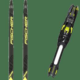 Ski de fond FISCHER FISCHER SPEEDMAX CLASSIC PLUS 902 MEDIUM IFP 19 + FISCHER RACE PRO CLASSIC IFP 22 - Ekosport
