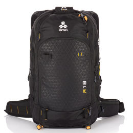 ARVA AIRBAG REACTOR 18 BLACK/SAFFRON 21