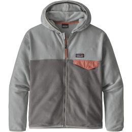 PATAGONIA GIRLS' MICRO D SNAP-T JKT NOBLE GREY 21