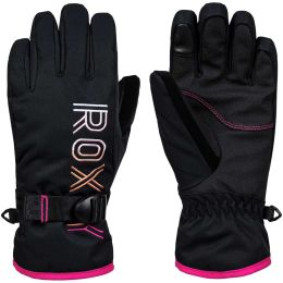 ROXY FRESHFIELD GIRL GLOVES TRUE BLACK 20