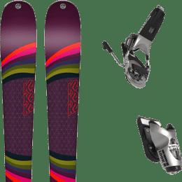 Pack ski alpin K2 K2 MISSCONDUCT + LOOK PIVOT 15 GW B95 RAW - Ekosport