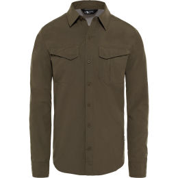 THE NORTH FACE M L/S SEQUOIA ST NEW TAUPE GREEN 19