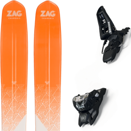ZAG SLAP 112 21 + MARKER SQUIRE 11 ID BLACK 21