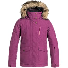 Roupa de inverno ROXY ROXY TRIBE GIRL JK G SNJT MAGENTA PURPLE 16 - Ekosport