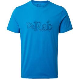 RAB STANCE SKETCH TEE MALIBU BLUE 21