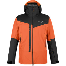 Vêtement hiver SALEWA SALEWA M SELLA RESPONSIVE JKT RED ORANGE 22 - Ekosport