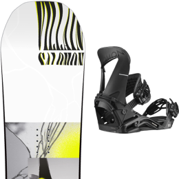 SALOMON THE VILLAIN 20 + SALOMON HOLOGRAM BLACK 20