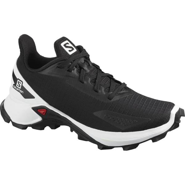 SALOMON Chaussure trail Alphacross Blast J Black/white/bk Enfant Noir taille 33