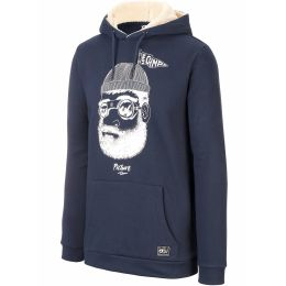 PICTURE PINECLIFF PLUSH HOODIE DARK BLUE 21