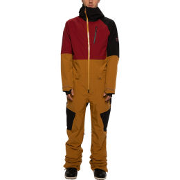 686 MENS GLCR HYDRA COVERALL GOLDEN BROWN CLRBLK 21