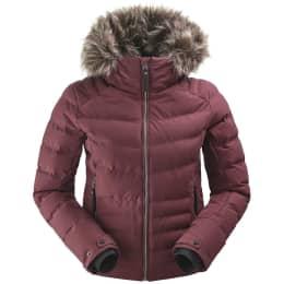Vêtement de ski EIDER EIDER HILL TOWN JKT W DARK WINE 19 - Ekosport
