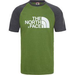 THE NORTH FACE M SS RAGLAN EASY TEE GARDEN GREEN 19