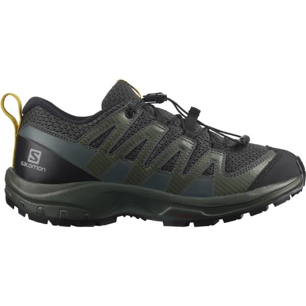 SALOMON Chaussure trail Xa Pro V8 Jr Black/urban Chic/sulphur Enfant Noir taille 33
