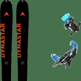 Boutique DYNASTAR DYNASTAR M-PIERRA MENTA OPEN 21 + SKI TRAB ATACCO GARA TITAN BLUE 21 - Ekosport