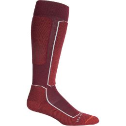 ICEBREAKER MENS SKI+ LIGHT OTC CABERNET 20