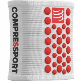 COMPRESSPORT SWEATBANDS 3D.DOTS WHITE/RED 21