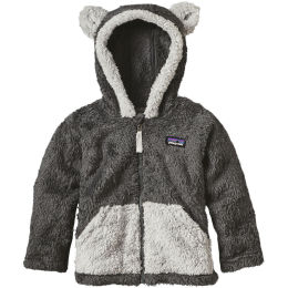 PATAGONIA BABY FURRY FRIENDS HOODY FORGE GREY 21