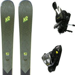 K2 ANTHEM 80 + ERC 11 TCX LIGHT QUIKCLIK BLACK/YELLOW 21