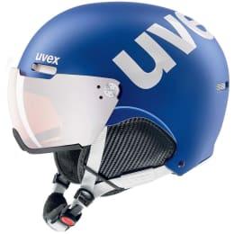 Casque ski UVEX UVEX HLMT 500 VISOR COBALT WHITE MAT 21 - Ekosport