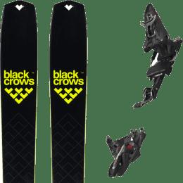 Ski randonnée BLACK CROWS BLACK CROWS SOLIS 22 + MARKER KINGPIN MWERKS 12 75-100MM BLK/RED 22 - Ekosport