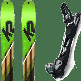 Pack ski+fix K2 K2 WAYBACK 88 SMU 22 + MARKER F10 TOUR BLACK/WHITE 22 - Ekosport